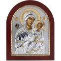 (EK) Иверская икона Божьей Матери (овал, дерево)