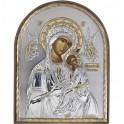 (EK) Страстная икона Божьей Матери (овал, пластик)