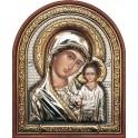 (RS) Казанская икона Божьей Матери (овал, пластик)