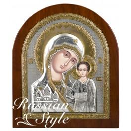 (RS) Казанская икона Божьей Матери (овал, дерево)