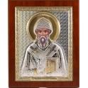 (RS) Икона Спиридона Тримифунтского (квадрат, дерево)