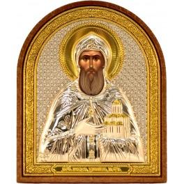 (RS) Икона Даниила Московского (овал, пластик)